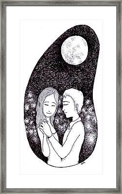 A Dance Framed Print by Katchakul Kaewkate