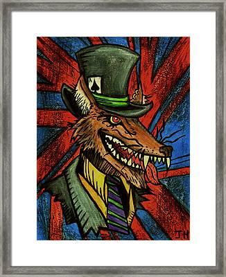 A Dapper Rogue Framed Print by John  G L Horvath