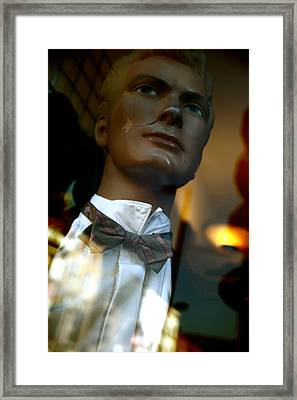 A Date For Nicole Framed Print by Jez C Self