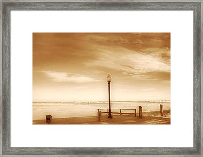 A Day At Goddard Framed Print by Lourry Legarde