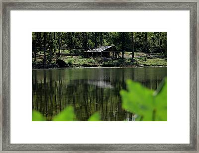 A Day By The Lake Framed Print by Bobby Martin