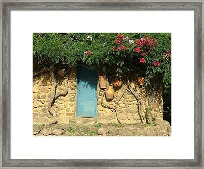 A Day In Colombia Framed Print