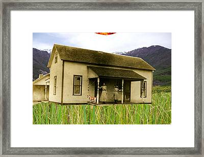 A Day In The Country  Framed Print by Welte A And T