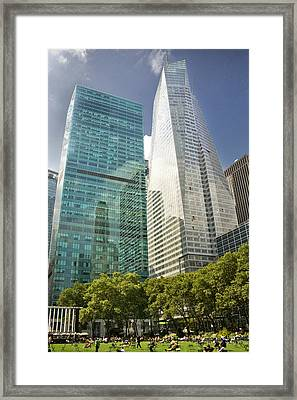 A Day In The Park Framed Print by Donovan Conway