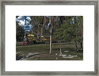 A Day On The Sarengeti Framed Print