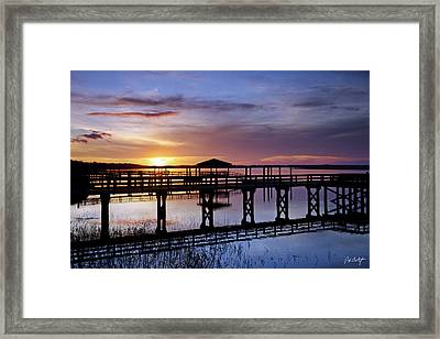 A December Sky Framed Print by Phill Doherty