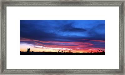 A Deeper Blue Framed Print by JC Findley