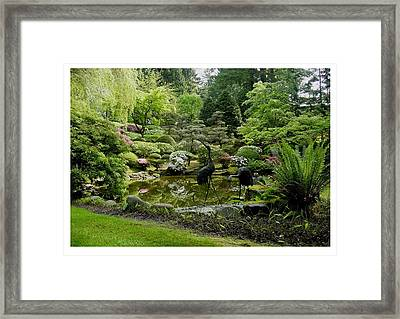 Framed Print featuring the photograph A Distinguished Panorama by Frank Wickham