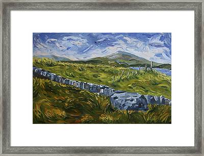 A Donegal Day Framed Print