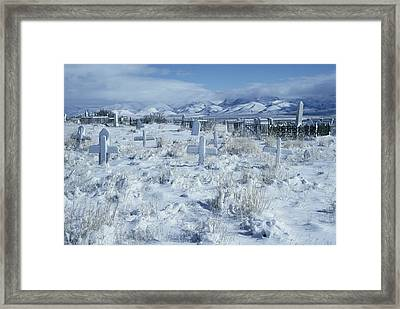 A Dramatic Winter Scene Framed Print by David Boyer