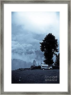 A Dreamlike  View Framed Print by Syed Aqueel