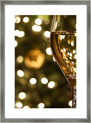 A Drink By The Tree Framed Print