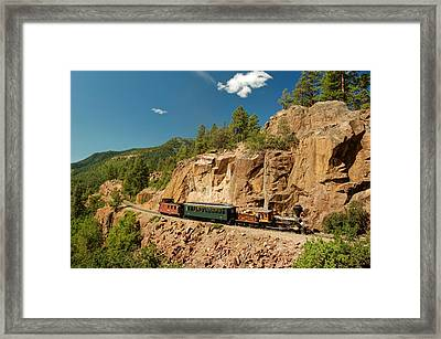 A Eureka Moment Framed Print by Ken Smith