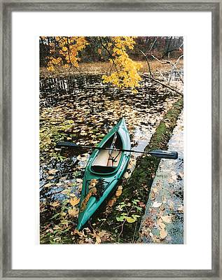 A Fall Harvest Framed Print by Gerald Strine