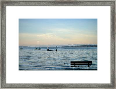 A Family Outing Framed Print by Travis Crockart
