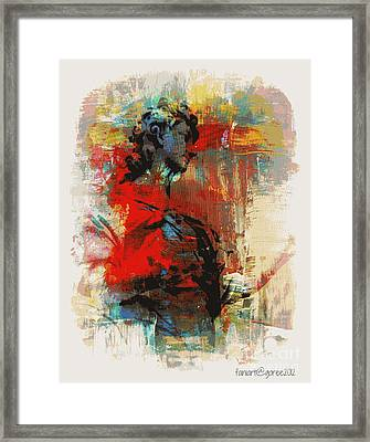 A Fellow Servant  Framed Print by Fania Simon