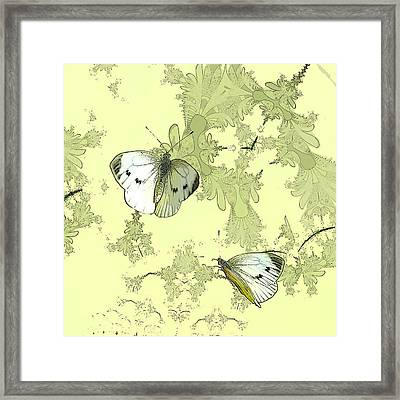 A Feuilles Vertes  Framed Print by Sharon Lisa Clarke