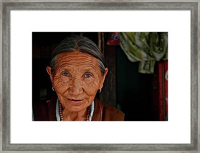 A Few Lifelines Framed Print by Valerie Rosen