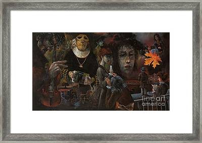 A Few Moments Of Life Of Niccolo Paganini Framed Print