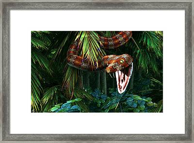 A Fine Mess Framed Print by Maynard Ellis