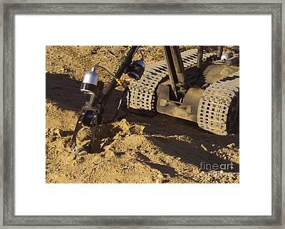 A Foster-miller Talon Mk II Ordnance Framed Print by Stocktrek Images