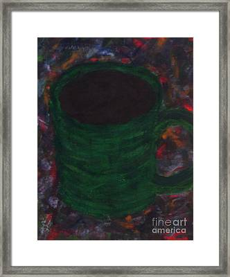 A Fresh Cup Of Daydreams Framed Print