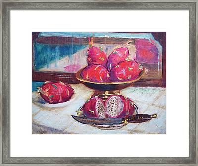 A Fruity Fruit Framed Print