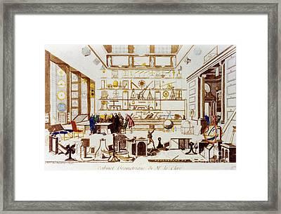 A Geometry Room, 1711-14 Framed Print by Granger