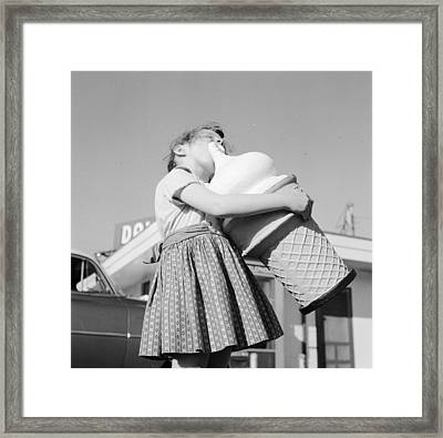 A Giant Cone Framed Print by Jacobsen