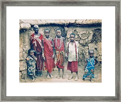 A Gift Framed Print by Gwyn Newcombe