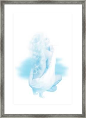 a Girl Framed Print by Svetlana Sewell