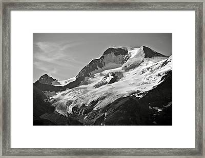 A Glacier In Jasper National Park Framed Print by RicardMN Photography