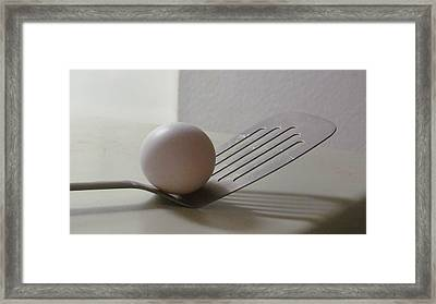 A Good Egg Framed Print