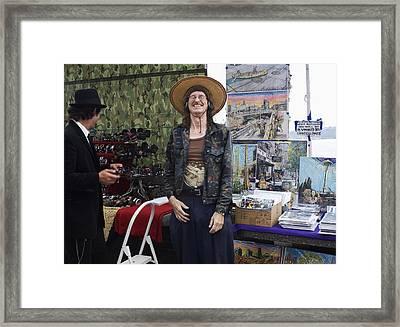 A Good Laugh Framed Print by Lorraine Devon Wilke