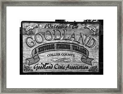 A Goodland Framed Print by David Lee Thompson