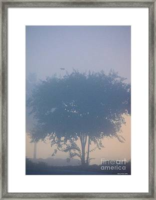 A Gothic Silhouette Framed Print by Maria Urso