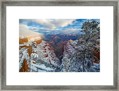 A Grand Dawn Framed Print by Guy Schmickle