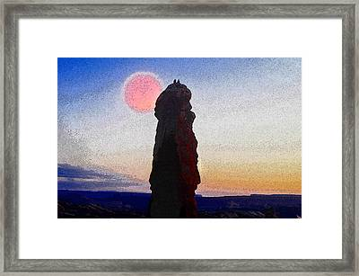 A Great Days End Framed Print by David Lee Thompson