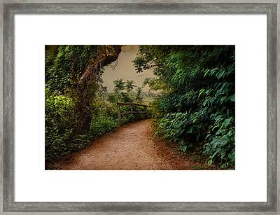 A Green Mile Framed Print by Robin-Lee Vieira
