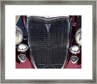 A Grill To Remember Framed Print by Steven Milner