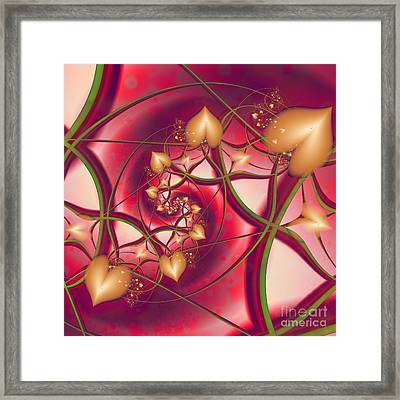 A Growing Love Framed Print by Michelle H