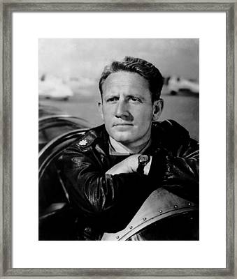 A Guy Named Joe, Spencer Tracy, 1943 Framed Print by Everett