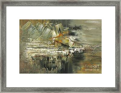 Framed Print featuring the painting A Hardened Case by Tatiana Iliina