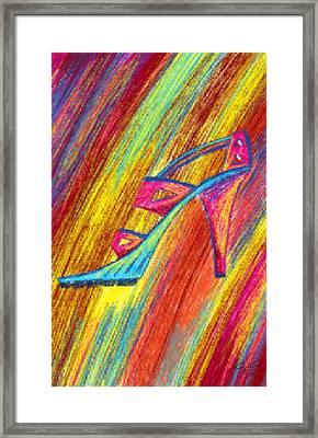 A High Heel Framed Print by Kenal Louis