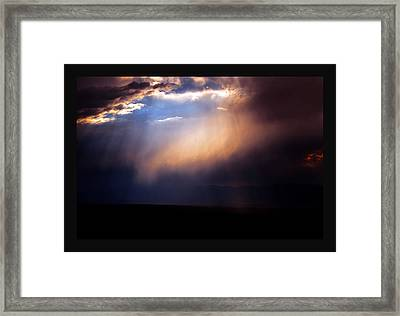 A Higher Violet Framed Print by Susanne Still