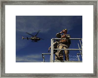 A Joint Terminal Attack Controller Framed Print by Stocktrek Images