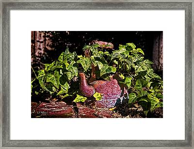 A Kettle Of Greens Framed Print by Christopher Holmes