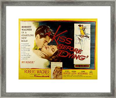A Kiss Before Dying, Robert Wagner Framed Print
