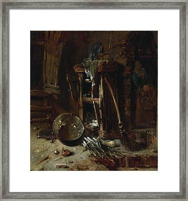 A Kitchen Corner Framed Print