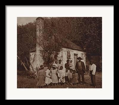 Hermitage Plantation Framed Prints